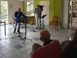 A - revu - chanteur et Mr Bersegol